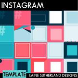 Instagram Social Media Templates - 30 Pre-made templates - Nautical Theme