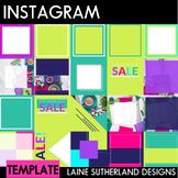 Instagram Social Media Templates - 35 Pre-made templates -