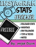 Instagram Stats Tracker FREEBIE