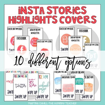 Instagram Stories Highlights Covers