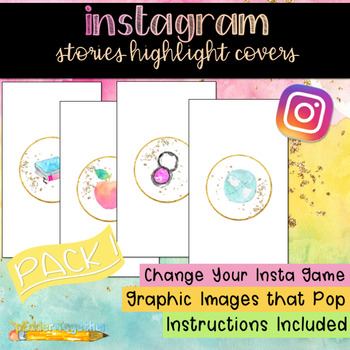 Instagram Stories Highlights Covers - Package 1