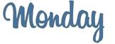 Instagram Style Weekday Calendar Files