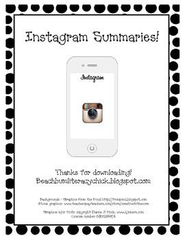 Instagram Summaries
