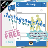 FREE Instagram Graphic Organizer Template & Presentation