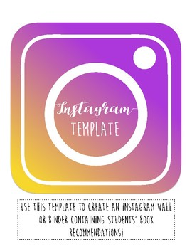 Instagram Template