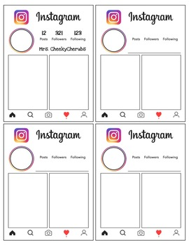 Instagram Bulletin Board Template - EDITABLE