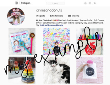 Instagram Template | Editable PowerPoint