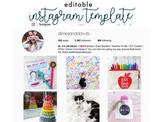 Instagram Template | Editable PowerPoint