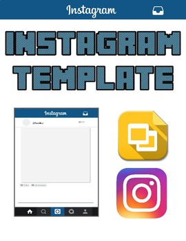 Instagram Template (Editable on Google Slides)