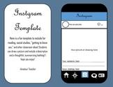 Instagram Template Extension Activity