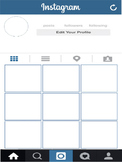 Instagram Template * Getting to know students activity
