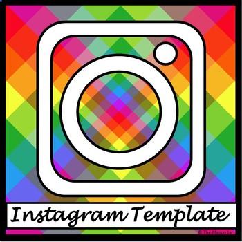 Instagram Template - No Prep