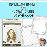Instagram Template and Character Selfie