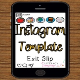 Instagram Template for Exit Tickets and Quick Informal Ass