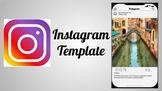 Instagram Template for Google Slides
