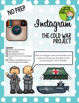 Instagram The Cold War Project (Middle grades version)