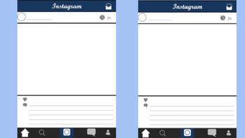 Instagram Vocabulary Activity