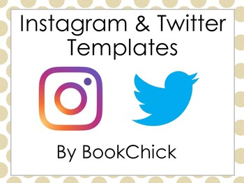 Instagram and Twitter Template Pack