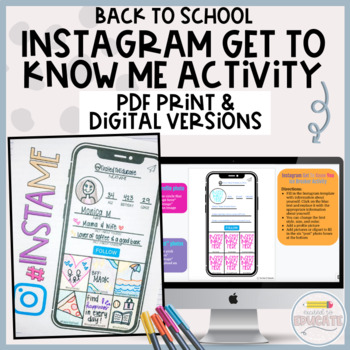 Back to School Instagram get to know you