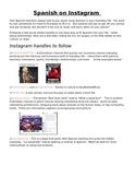 Instagram handles in Spanish