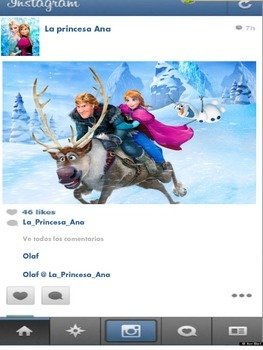 Instagram in Spanish with your Favorite Disney and Lovable characters!