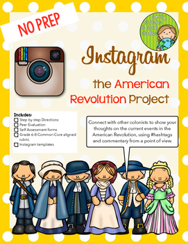 Instagram the American Revolution Project