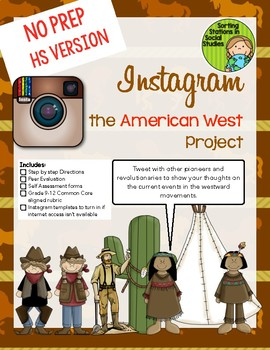 Instagram the American West Project (High school version)