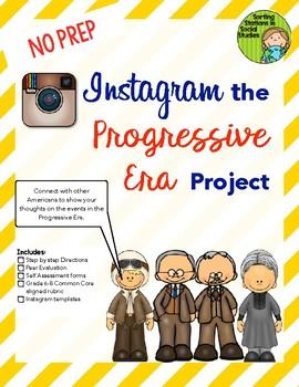 Instagram the Progressive Era Project