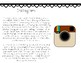 Instagram vs. Snapchat Compare and Contrast Passages, Venn Diagram, and Writing