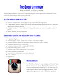 Instagrammar ~ A Digital Photo Captioning Activity Using I