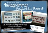 Instagrammar Bulletin Board