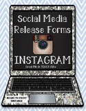 Instagram Release Form (Editable)