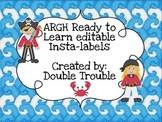 ARGH Ready to Learn (Pirates)-Labels