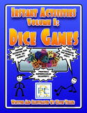 Instant Activities Volume 1: Dice Games