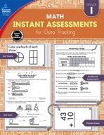 Instant Assessments for Data Tracking, Grade 1