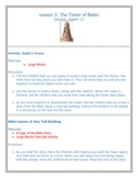 Instant Bible Lesson 3 TOWER OF BABEL