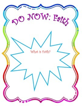 Instant Bible Lesson: Faith