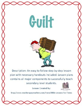 Instant Bible Lesson: Guilt