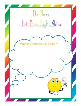 Instant Bible Lesson: Let your Light Shine