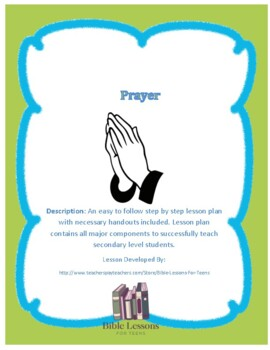 Instant Bible Lesson: Prayer
