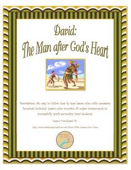 Instant Bible Lesson: The man after God's Heart- David