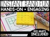 Instant Center Mats: Band Fun (Fine Motor, Morning Work, M