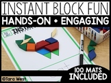 Instant Center Mats: Block Fun (Fine Motor, Morning Work, Morning Tubs)