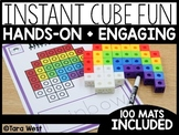 Instant Center Mats: Cube Fun (Fine Motor, Morning Work, Morning Tubs)
