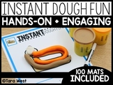Instant Center Mats: Dough Fun (Fine Motor, Morning Work,