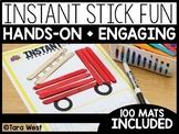 Instant Center Mats: Stick Fun (Fine Motor, Morning Work,