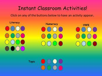 Instant Classroom Activity Pack