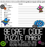 Automatic Secret Code Puzzle Maker