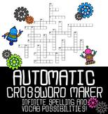 Automatic Crossword Puzzle Maker