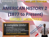 Instant Curriculum (Just Add Teacher): American History II (1877 to Present)